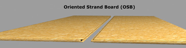 Oriented Strand Board Deck