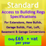 Register for Building Regulations Specifications Web Apps for Construction Plans